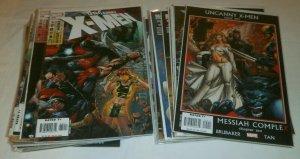 Uncanny X-Men V1 #475-510 (missing 5) Brubaker/Fraction comic book lot of 31