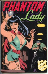 Phantom Lady 1994-Verotik-reprints Matt Baker Phantom Lady comic-NM