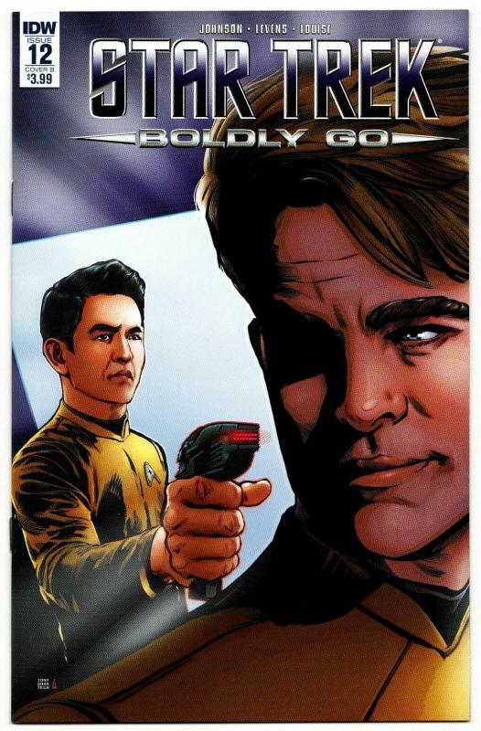 Star Trek Boldly Go #12 Cvr B (IDW, 2017) VF