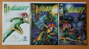 Velocity 1-3 Complete Set Run! ~ NEAR MINT NM ~ 1995 Image Comics
