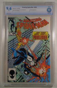 Amazing Spider-Man #269 CBCS 9.6 White Pages Firelord Marvel