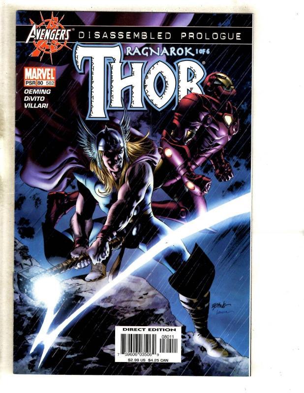 8 Mighty Thor Marvel Comic Books # 579 580 581 582 583 584 585 586 Loki MF20