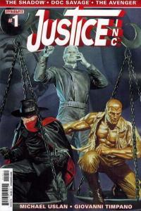 Justice Inc. (2014 series) #1, NM + (Stock photo)
