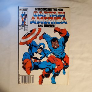 Captain America 334 Fine- Cover by Mike Zeck