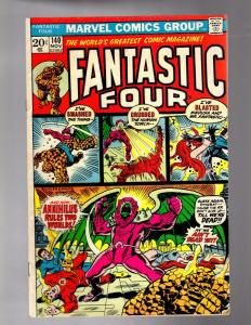 FANTASTIC FOUR 140 VERY GOOD Nov. 1973