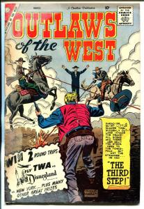Outlaws of The Old West #24 1960-Charlton-western thrills-Cheyenne Kid-G-