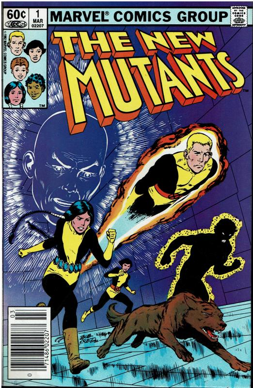 New Mutants #1, 9.0 or Better, 2nd Team Appearance