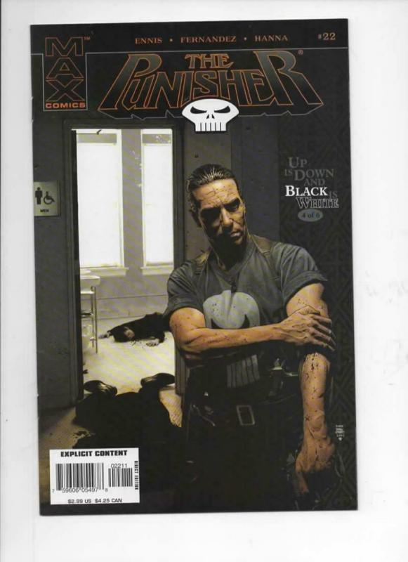 PUNISHER #22, VF/NM, 2004 2005, Garth Ennis, Frank Castle, Marvel, more in store