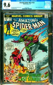 Amazing Spider-Man #122 CGC 9.6 Death of Green Goblin