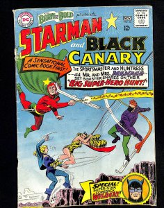 Brave And The Bold #62 Starman Black Canary!