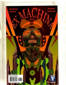 Lot of 14 Ex Machina Comic Books #25 26 27 28 29 30 31 32 33 34 35 36 37 38 CE3