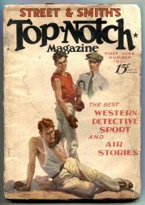 Top-Notch Pulp June 1 1931- Western-Detective G