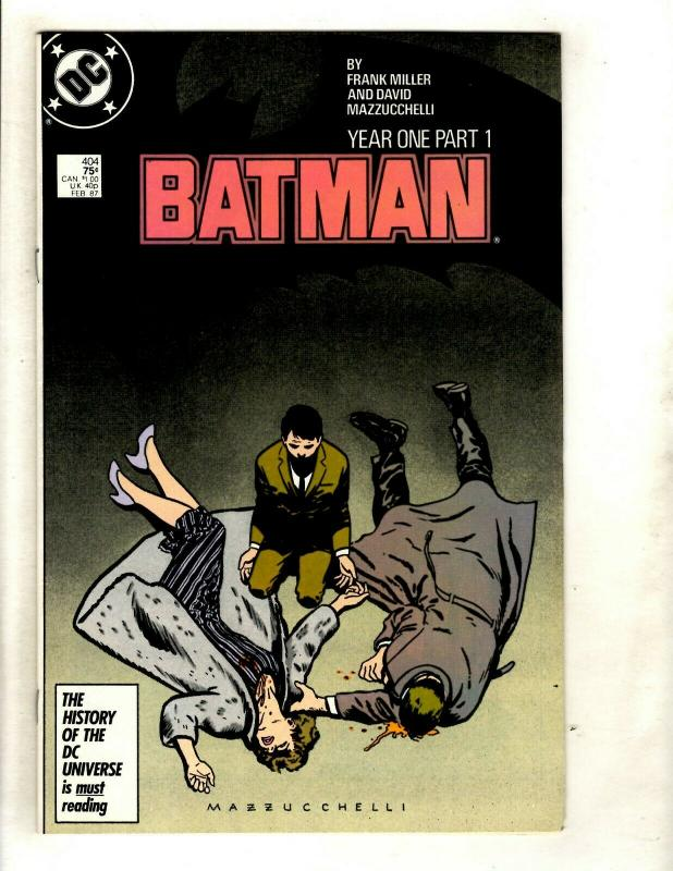 Lot Of 3 Batman DC Comic Books # 421 422 404 Robin Joker Catwoman Riddler SM8