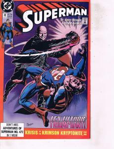 Lot Of 2  DC Comic Book Superman #49 221 Batman  BH49