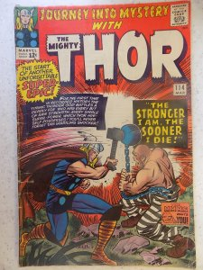 JOURNEY INTO MYSTERY # 114 THOR FIRST ABSORBING MAN CLASSIC VILLAIN SOME WEAR...