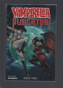 Vampirella VS Purgatori #2 FOC Premium Cover