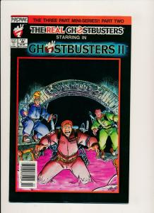 Now Comics, The Real Ghostbusters II #2 1989 ~  F/VF (PF557)
