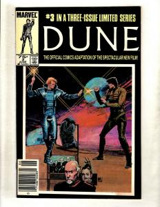 Dune # 3 VF Marvel Comic Book Limited Series Movie Adaptation Issue WS9