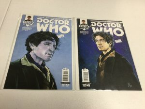 Doctor Who 4 5 Cover C Nm Near Mint Eighth Doctor Titan Comics