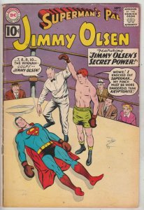 Jimmy Olsen, Superman's Pal  #55 (Sep-61) FN Mid-Grade Jimmy Olsen