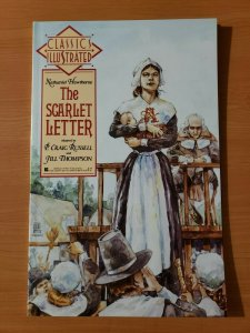 Classics Illustrated #6 The Scarlet Letter ~ NEAR MINT NM ~ 1990