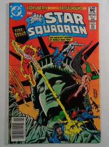 All-Star Squadron #5 VF Front/Back Cover Photos DC 1982
