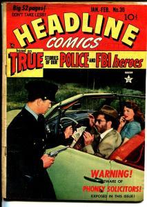 Headline #39 1950-crime photo cover-RCMP-rackets-FR