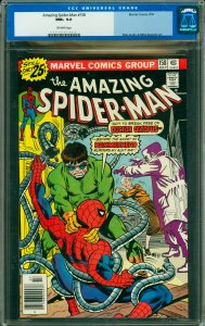 Amazing Spider-Man #158 CGC Graded 9.6