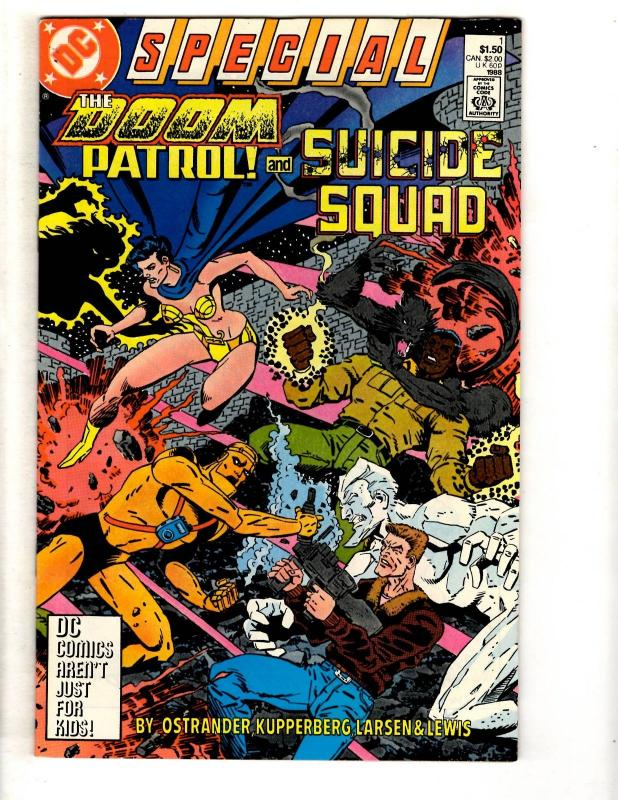 6 DC Comics Suicide Squad Special 1 Alliance 1 Earth 2 Forever 1 Savage 1 ++ JW3