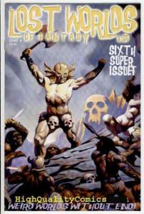 LOST WORLDS OF FANTASY & Sci-Fi #6, Mike Hoffman, NM+, more indies in store
