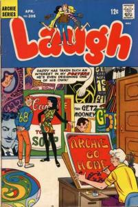Laugh Comics #205, VG- (Stock photo)