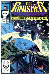PUNISHER #7, NM, Nuclear Terrorists over Times Square, 1987,more Marvel in store