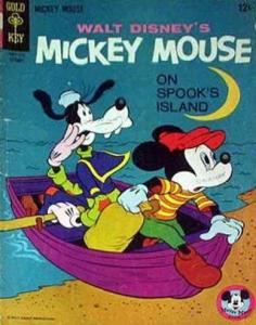 Mickey Mouse (Walt Disney's…) #103 VG; Dell | low grade comic - save on shipping
