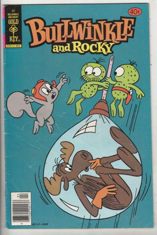Bullwinkle and Rocky #20 (Apr-79) FN+ High-Grade Rocket J Squirrel, Bullwinkl...