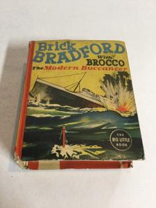 Brick Bradford With Brocco The Modern Buccaneer Fn Fine 6.0 Big Little Book 1468