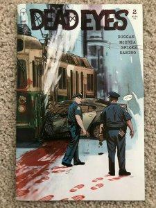 DEAD EYES - #2 VARIANT COVER - McCrea (Dicks) - Image (Dead Rabbits)