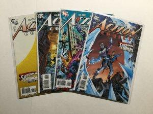 Action Comics 860-863 Variant Lot Run Set Near Mint Nm Dc Comics