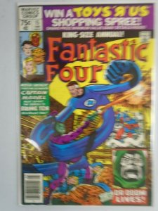 Fantastic Four Annual #15 Newsstand edition 6.0 FN (1980 1st Series)