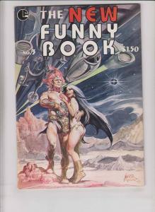New Funny Book #3 VF/NM (1st) print NESTOR REDONDO underground comix 1979