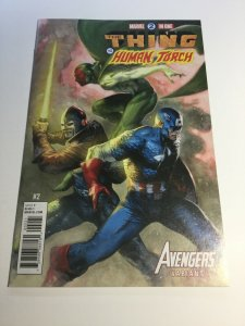 Marvel Two In One 2 Del'otto Avengers Variant Nm Near Mint Marvel Comics