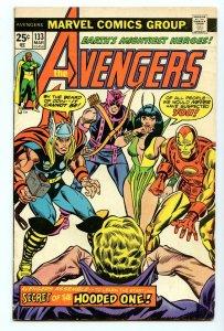 Avengers 133 Mar 1975 VG/FI (5.0)