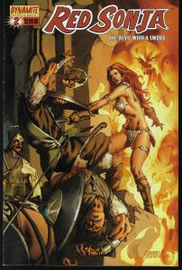 Red Sonja #2 (Dynamite Entertainment) - Mel Rubi Cover