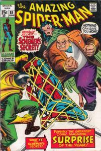 Amazing Spider-Man #85 (Jun-70) VG+ Affordable-Grade Spider-Man