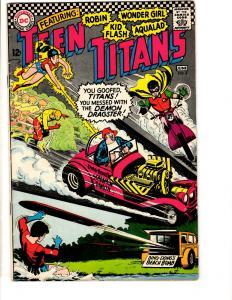 Teen Titans # 3 FN/VF DC Silver Age Comic Book Robin Flash Wonder Girl JL17