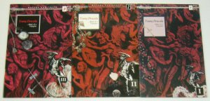 Young Dracula #1-3 VF/NM complete series - early work by david mack - caliber 2