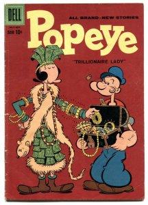Popeye #49 1959- Dell silver age comic VG