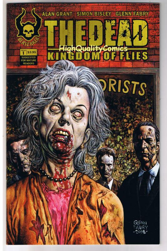 The DEAD 1, Kingdom of Flies, VF, Simon Bisley, Zombie, 2008, Undead