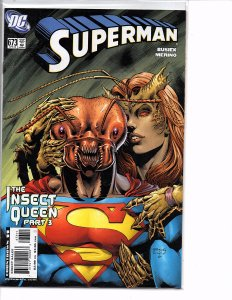 DC Comics Superman #673 Insect Queen Kurt Busiek Story