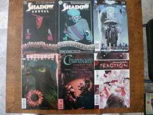 6 DC Comic Book: THE SHADOW DREAMING #24 CHIAROSCURO #2 BATMAN FRACTION #1