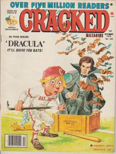 CRACKED #165 - HUMOR COMIC MAGAZINE